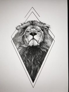 Lion tattoos hold different meanings. Lions are known to be proud and courageous.Lion tattoos hold different meanings. Lions are known to be proud and courageous creatures. So if you feel that you carry those same qualities in you, a lion tatt Kunst Tattoos, Leo Tattoos, Tattoo Drawings, Body Art Tattoos, Sleeve Tattoos, Tattoo Art, Tattos, Shape Tattoo, Tattoo Fonts
