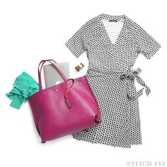 You're the Stylist! A stylish work from home look.