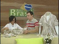 ARTE BRASIL -- CLAUDIA MARIA -- CASAQUETO TARANTELA EM TRICÔ (29/09/2010 - Parte 2 de 2) - YouTube