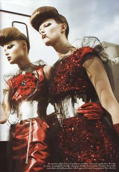Photography by Steven Meisel for Vogue Italy |