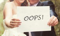 Típicos errores al planear una boda - Para Más Información Ingresa en: http://centrosdemesaparaboda.com/tipicos-errores-al-planear-una-boda/