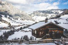 Alpbach in winter (Tyrol, Austria)