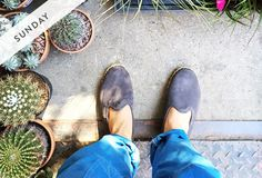 """Espadrille slippers are always a """"do"""" when it comes to a lazy Sunday brunch."""