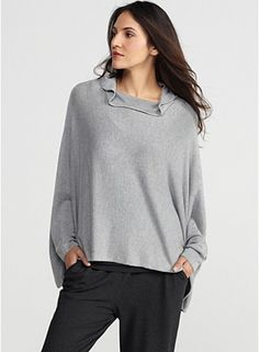 Comfy and I love gray!