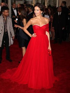 Camilla Belle and red dress. i wanna wear this everyday of my life