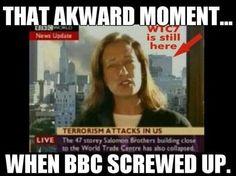 Mainstream news media pre-empting the collapse of WTC7 on 9/11. How can this be?!!! Because they knew it was going to collapse, 9/11 WAS AN INSIDE JOB. WTC7 and the WTC collapsed from controlled demolition. Not from the planes crashing into them!!! WAKE UP, SHEEPLE!