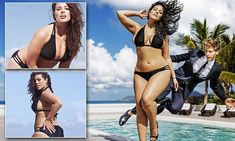 Ashley Graham is the first plus size model to be in Sports Illustrated