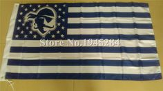 Seton Hall Pirates NCAA with US Stars Stripes Flag New 3x5ft 90X150cm Polyester Flag Banner, free shipping