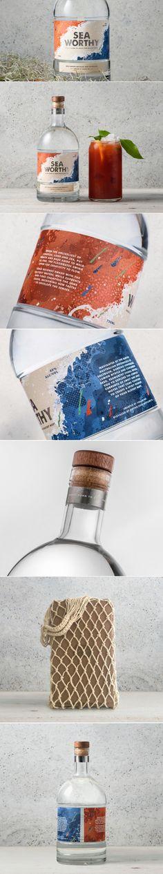 Seaworthy Vodka — The Dieline | Packaging & Branding Design & Innovation News