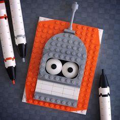 Les briques de LEGO ne sont pas de simples jouets pour enfants, il sont également utilisés pour créer des portraits en 3D. C'est ce qu'a fait Chris McVeigh, photographe et designer, qui se sert des LEGO pour créer une série de portraits représentant des personnages bien connus de tous : de Batman à Raphael des Tortues Ninja, en passant par Cookie Monster et bien d'autres.