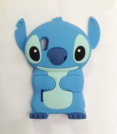 3D Cute Blue Stitch Alien Disney Soft Case Cover For LG E610 Optimus L5