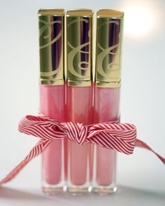 Estee Lauder Lipgloss. I'm obsessed with pink lipgloss by ALL brands!