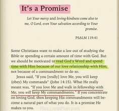 Its a God Promise to you