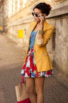 #outfit #fashion #colorful #yellow