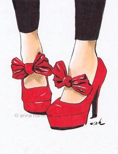 Anna Hammer #illustration #painting #drawing