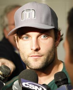 Wes Welker talking to media in the offseason. #Patriots