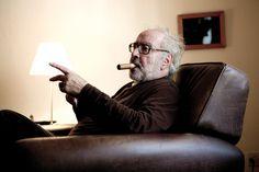 Jean-Luc Godard © Alban Kakulya Jean Luc Godard, Interview, Fictional Characters, Balance Sheet, Fantasy Characters