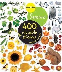 Eyelike Sticker Book: The Four Seasons w/400 Reusable Stickers