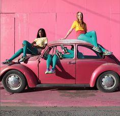 Puma x Solange Knowles, les clichés punchy de la collection!