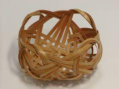 竹細工:四海波花かご