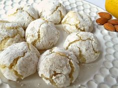 Gluten-Free Lemon Crinkle Cookies Made with Almond Flour