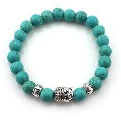 Natural Stone Buddha Bracelets