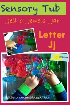 Alphabet: Jj Theme: Thanksgiving Bible: Give thanks to The Lord... Alphabet : What you need: -Unflavored gelatin -water -Food coloring -Jewe...