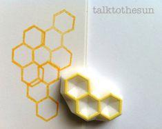 geometrische Stempel. Grenze Hand geschnitzte von talktothesun