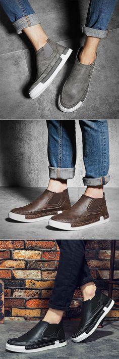 new product 6f0fc 0dfc4 US 42.50 Panels Portable Slip Mens Designer Watches, Mens Designer Shoes,  Ankle Shoes