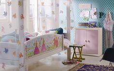 Camerette per bambini con baldacchino