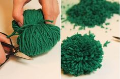 How To Make Pompom Rugs | So Creative Things | Creative DIY Projects
