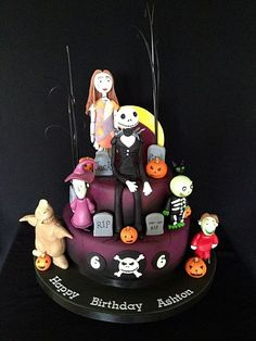 Nightmare Before Christmas Cake Picture