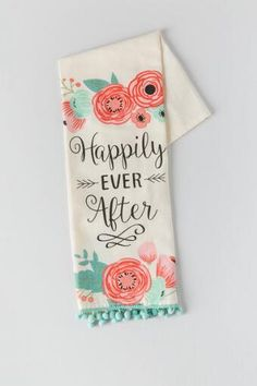 Bon Happily Ever After Tea Towel