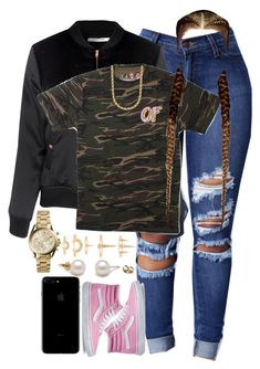 """9.18.16"" by mcmlxxi ❤ liked on Polyvore featuring Vans, Glamorous, Michael Kors and Luv Aj"