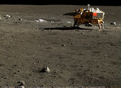 While exploring the lunar surface, China's Chang'e 3 lander discovered a new type of moon rock, and managed to snap THOUSANDS of high-resolution images of the moon.   For the first time ever, you can take a peek at the lunar surface like never before thanks to the sophisticated cameras located onboard the Chang'e 3, one of China's most advanced lunar landers.