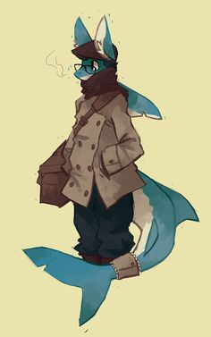 What an incredibly cute shark!