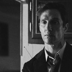 """I know who I am. And after all these years, there's a victory in that."" Rust Cohle [Matthew McConaughey], True Detective"