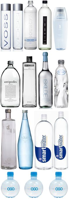 water. I really like the antipodes bottle.
