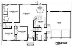 Deneschuk Homes 1600 - 1700 sq ft Home Plans RTM and OnSite homes ...