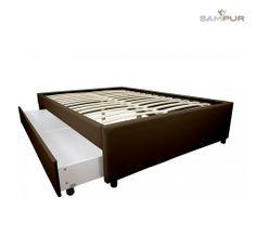 Lits Et Cadres De Lit A Pinterest Collection By Sampur Bed Frame - Lit avec grand rangement