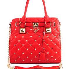 Unique Handbags, Cheap Handbags, Handbags On Sale, Red Clothing, Discount Handbags, Red Handbag, Fashion Handbags, Diamond Shapes, Evening Bags