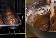 Быстрые шоколадные кексы без яиц. Объедение! - womanlifeclub.ru