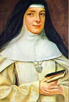 Saint Mary Euphrasia Pelletier - French, Founer of the Sisters of Our Lady of Charity of the Good Shepherd- In her 33 years as Mother Superior, she started 110 foundations to serve penitent women in France, Belgium, Hollan, Rome, Germany, Austria, England, Scotland, Ireland, Asia, Africa, the United States and Chile.