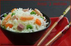 Cómo hacer un arroz 3 delicias estilo chino con Thermomix