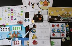 Free Angry Birds Printables!