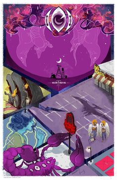 """""""I have some major NightVale feels. this one from podcasts # 1-5. maybe others later?"""" via tumblr"""