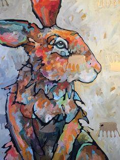 Amy Ringholz (Artist) Creative Skills, Amy, Art Projects, Rabbits, Drawings, Artist, Artwork, Bunny, Inspiration