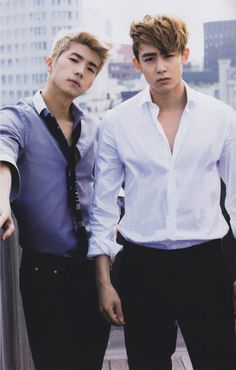 Wooyoung & Nichkhun.