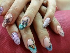 uñas decoradas mariposas - Buscar con Google Nails, Google, Beauty, Butterflies, Finger Nails, Beleza, Ongles, Nail, Cosmetology