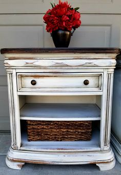 1980 S 65 Dresser In Linen White Rustoleum Chalk Paint
